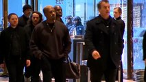 MUST WATCH_ Kanye West SPOTTED Entering Trump Tower for Meeting with Donald Trump