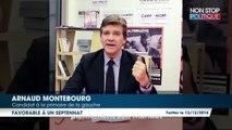 Primaire à gauche : Arnaud Montebourg propose un septennat non renouvelable dans une VIème République