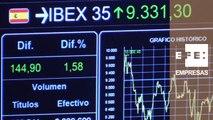 La Bolsa española supera los 9.300 y roza máximos del año