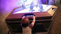 Fun at Star Wars Launch Bay   Action Movie Kid   Star Wars   Walt Disney World