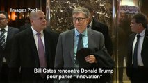 Bill Gates rencontre Donald Trump pour parler «innovation»