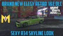 """GTA 5 Online DLC - NEW Elegy Retro Car - New """"Elegy Retro"""" Spending Spree + Showcase """"Elegy Retro DLC"""""""