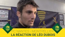 FCN-MHSC : la réaction de Léo Dubois