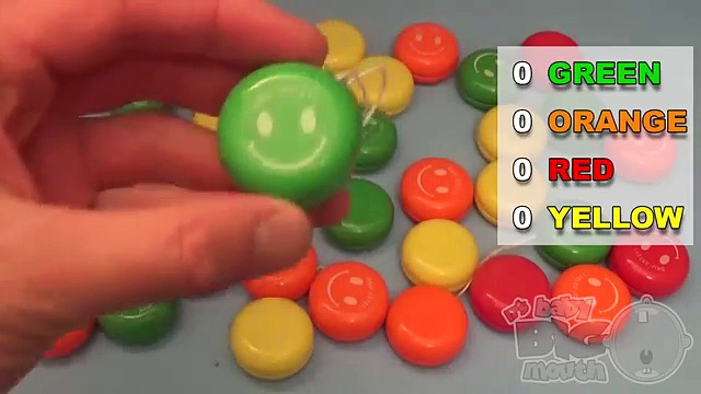 Learn Colours With Smiley Face Yo Yos! Fun Learning Contest