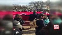 Beyaz Saray önünde teröre lanet Türkiye'ye destek gösterisi | En Son Haber
