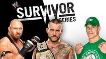 WWE Survivor Series 2012: Cm Punk vs John Cena vs Ryback - Lucha De Amenaza Triple, Por El Campeonato De WWE