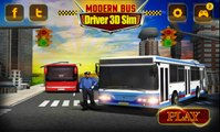 Modern Bus Driver 3D Sim - Android Gameplay HD