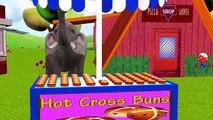 Colors Animals Elephant Dinosaur Gorilla Rain Rain Go Away Popular Nursery Rhymes Baby Fun Songs