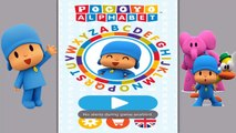 Kids Learn to write the Letters w/ Pocoyo Alphabet | ABC Educational Games For Children Preschoolers