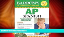 Best Price Barron s AP Spanish with Audio CDs and CD-ROM (Barron s AP Spanish (W/CD   CD-ROM))