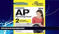 Buy Princeton Review Cracking the AP Psychology Exam, 2014 Edition (College Test Preparation)