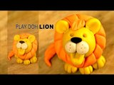 Play Doh  Lion | Jungle King | Play Doh Simba The Lion