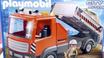 Camion de chantier PLAYMOBIL 6861 City Action - Unboxing Joue avec moi