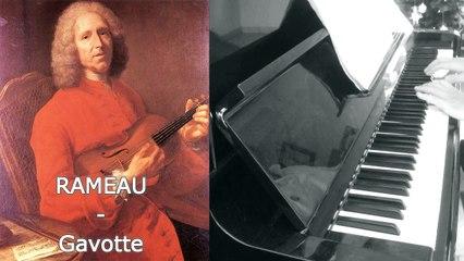 Rameau - Gavotte - Piano
