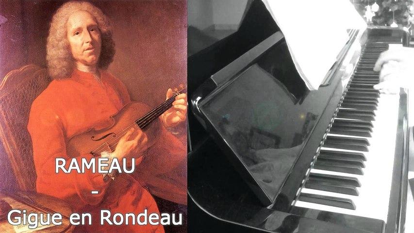 Rameau - Gigue en Rondeau - Piano