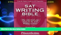 Price The PowerScore SAT Writing Bible Victoria Wood For Kindle