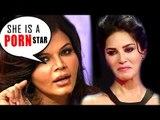 Rakhi Sawant ABUSING Sunny Leone In Public ! Rakhi Sawant AIB