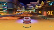 Disney Pixar CARS 2 Holley Shiftwell & Lightning McQueen & Francesco Bernoulli &