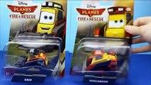 Disney Planes Fire & Rescue Planes Unboxing Firefighter Dusty Crophopper, Maru, Skipper, Avalanche