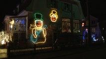 Hagondange : La maison de Noël s'illumine et chante chaque soir