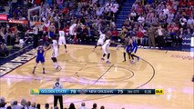 Stephen Curry High-Five With Pelicans Coach