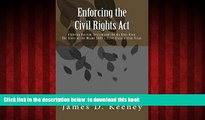 Audiobook Enforcing the Civil Rights Act: Fighting Racism, Sexism and the Ku Klux Klan.  The Story
