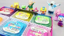 Mundial de Juguetes & Pudding Jelly Slime Rainbow Colours Clay With Pororo Toy