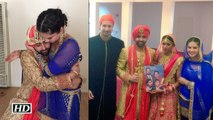 Sunny Leone's DESI avatar at her brother's wedding | Watch Video