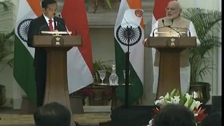 PM Narendra Modi Speech on PMO India President Indonesia Joko Widodo Joint Statement Delhi
