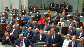Australian PM Taking About PM Narendra Modi in Parliament 2016