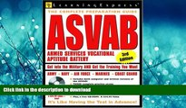 READ ASVAB: Armed Services Vocational Aptitude Battery (Armed Services Vocational Aptitude Battery