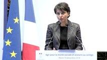 [ARCHIVE] Agir pour la mixité sociale et scolaire au collège : discours de Najat Vallaud-Belkacem