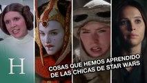 Cosas que hemos aprendido de las chicas de Star Wars