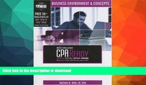 Hardcover CPA Ready Comprehensive CPA Exam Review - 36th Edition 2007-2008: Business Environment