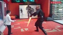 Quimper. Combats de sabre laser avec les Jedi au Cinéville