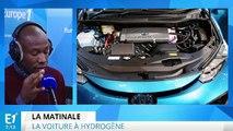 La voiture à hydrogène taille sa route