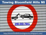 Towing Bloomfield Hills MI (248) 440-7841