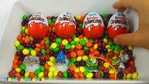 Kinder Surprise Eggs Unboxing Pokemon Toys Disney Toys Marvel Avengers Toys?! Kinder Surprise Eggs