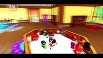 Mickey Mouse and Minnie Mouse have a bubble bath and shower / Nursery Rhyme Playlist 2