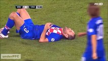 Top 10 Worst Tackles, Injuries And Fouls In Football Crazy Funny Soccer Fails!