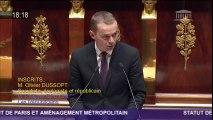 Intervention en séance sur le projet de loi relatif au statut de Paris et à l'aménagement métropolitain