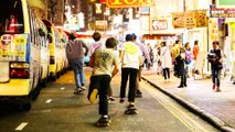 International Crew of Skaters Hit the Streets Hong Kong