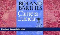 Price Camera Lucida: Reflections on Photography Roland Barthes For Kindle
