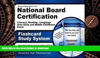 Pre Order Flashcard Study System for the National Board Certification Literacy: Reading - Language