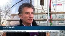 Jack Lang dit tout le bien qu'il pense de Manuel Valls (EXCLU)