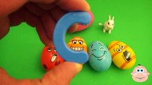 Kinder Surprise Egg Learn A Word Easter Lesson 2! Teaching Spelling & Letters Opening Eggs & Toys