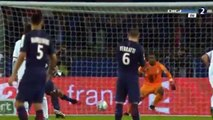 Lucas Moura Penalty Goal HD - Paris Saint-Germain 1-0 Lille 14.12.2016