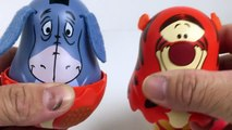 Winnie the Pooh Stacking Cups Surprise Eggs Pooh Bear Tigger Eeyore Piglet Disney Winnie-the-Pooh