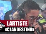 """Lartiste """"Clandestina"""" en live dans Planète Rap"""