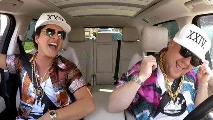 Bruno Mars is Magic on Carpool Karaoke